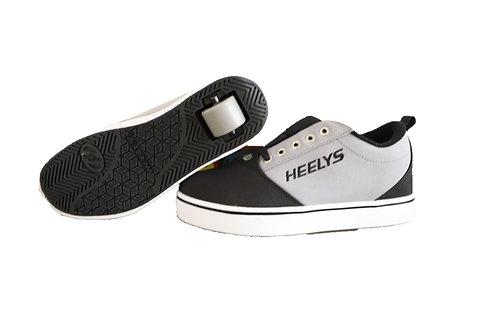 HEELYS PRO 20 X 1 BLACK AND GREY