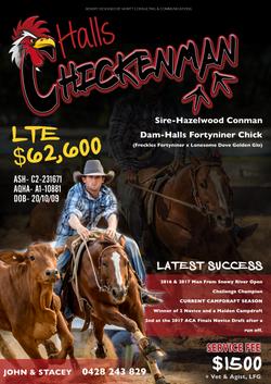 Chickenman Advert