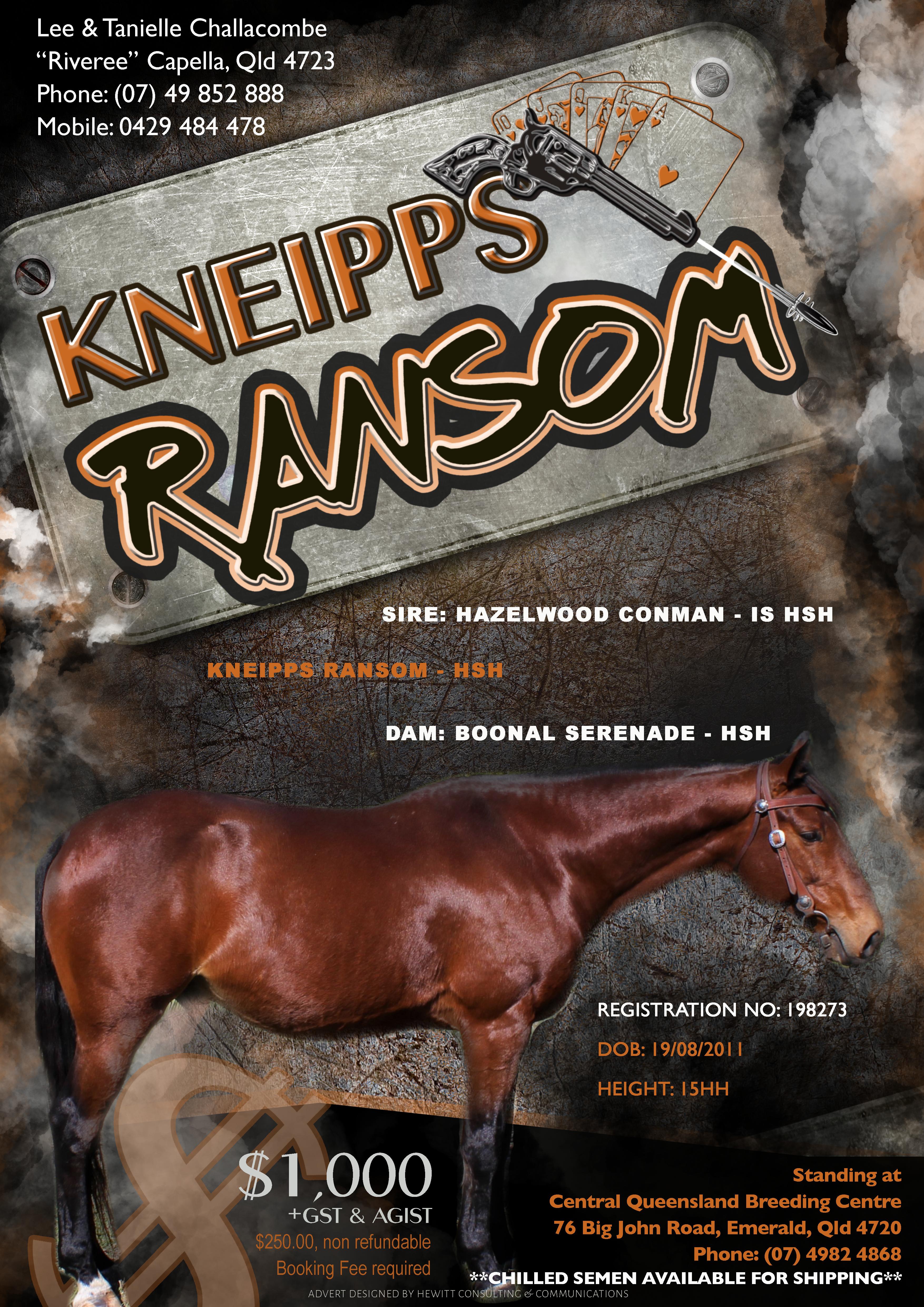 Kneipps Ransom Advert Final
