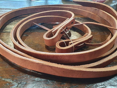 7/8 Heavy Leather Reins