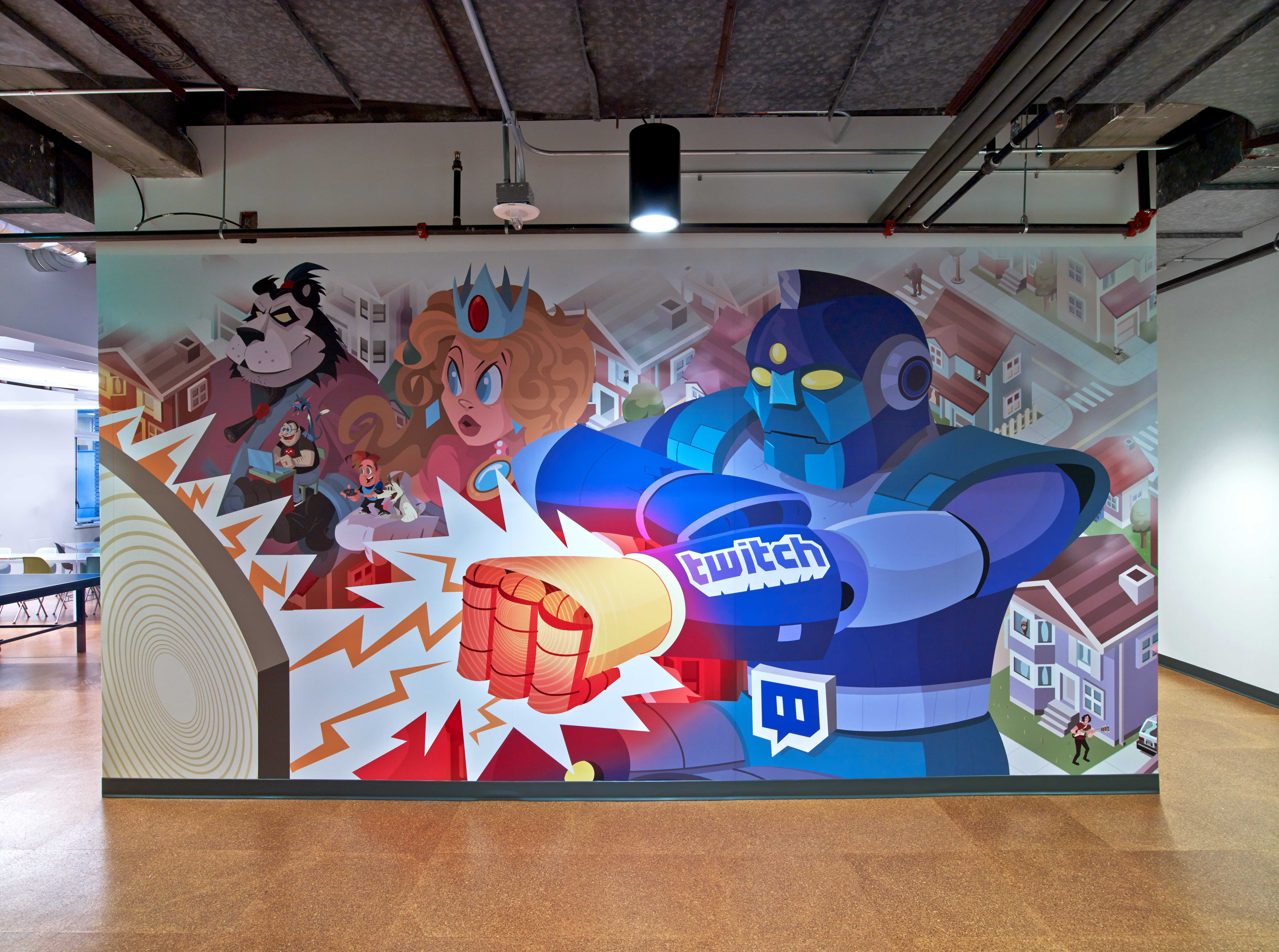 Twitch Feature Wall