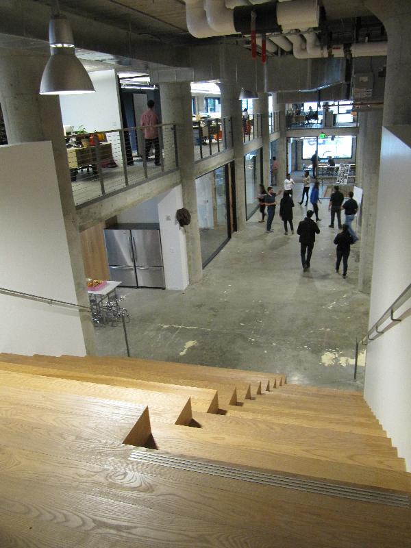 Eleven Inc Stairwell