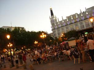 Plaza de Santa Ana, Madrid. PM9