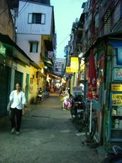 De Tam Street. Ho Chi Minh City, Vietnam