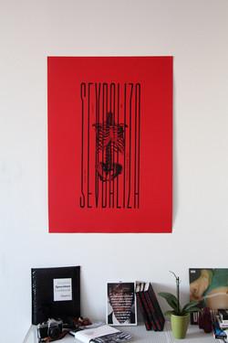 Sevdaliza Silkscreen Poster