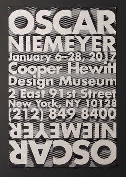 Oscar Niemeyer Poster