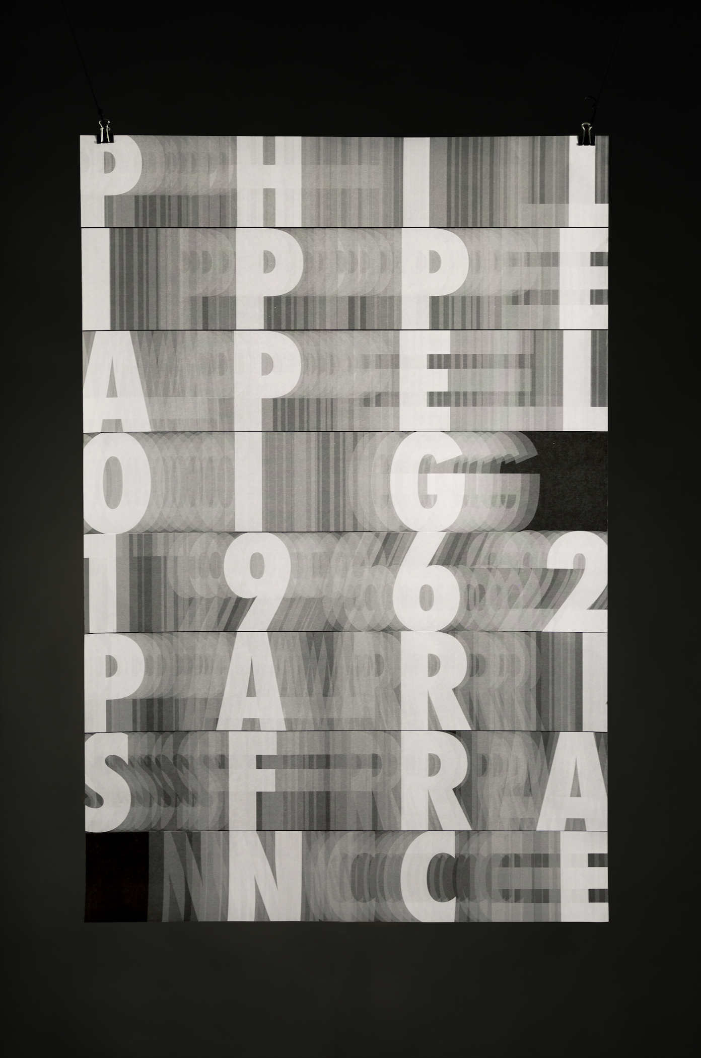 Philippe Apeloig Homage Poster