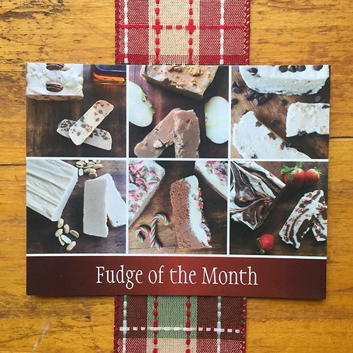 Fudge Of The Month - 12 Month Subscription