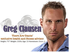 There Are Giants At The GYM: Greg Clausen, The 7 FOOT Body Builder.