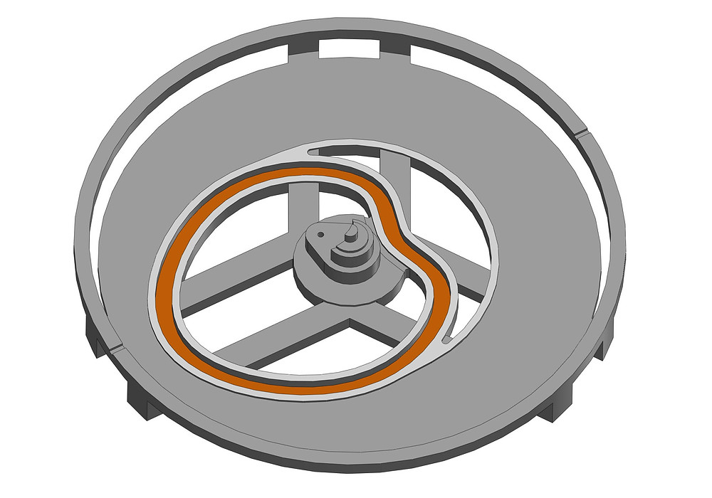 cam path plate solidworks CAD