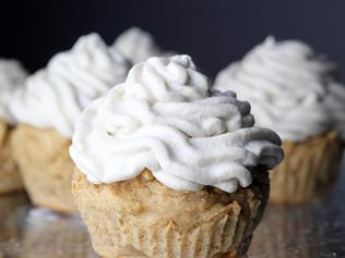 Very Vanilla Protein Cupcakes