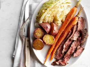 """Quick """"Corned"""" Beef & Cabbage"""