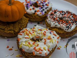 The Best Pumpkin PROTEIN Doughnuts Recipe