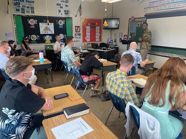 Homebuilders in class cesar teaching 5-9