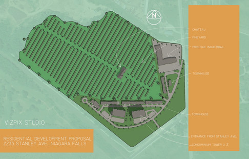 Masterplan of Winery and Residential Development