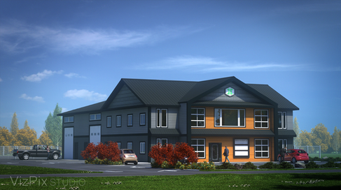 Office Architectural Visualization