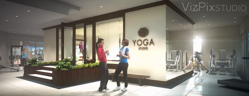 Gym and Yoga Studio Visualization