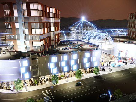 Reno's Neon Line Casino Development in 3D