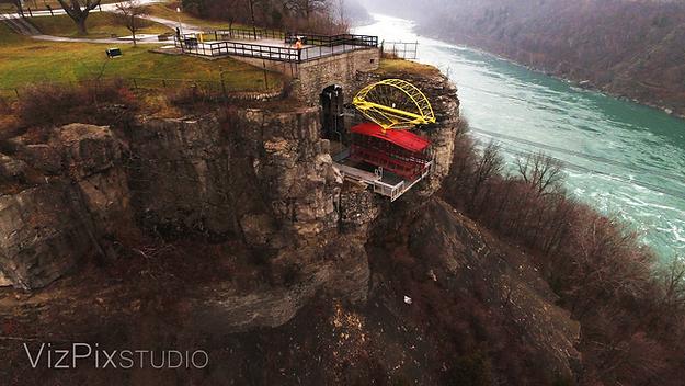 Drone Photography Niagara Gorge