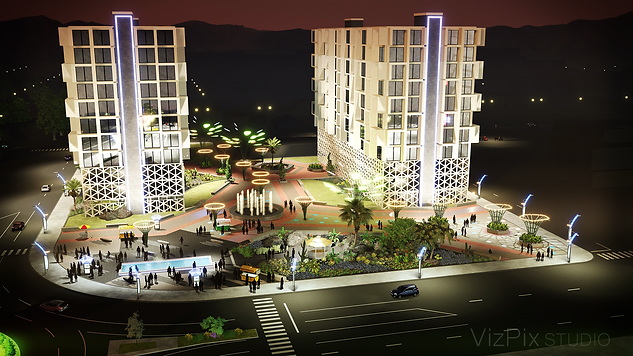 Reno Nevada Re-development Rendering