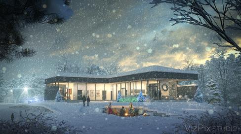 VizPix Studio Winter Holiday Rendering