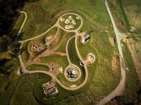 Drone Photograph Glenridge Quarry Naturalization Site