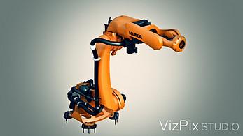 3D Kuka Robot Render