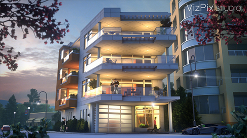 Wedge Architectural Visualization