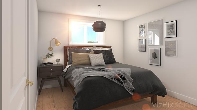6599 Montrose Rd Bedroom 3D Rendering