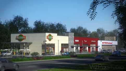 Architectural Visualization of Shopping Mall