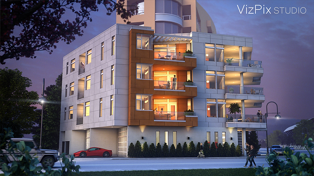 The Wedge Condominium Visualization
