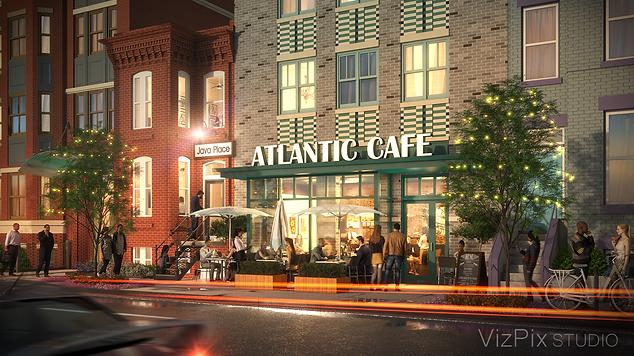 Evening Cafe Visualization
