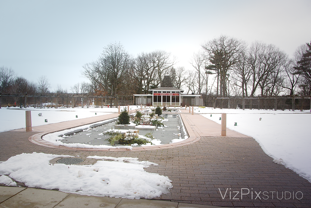 Royal Botanical Garden during the winter months. photo by Vizpix Studio