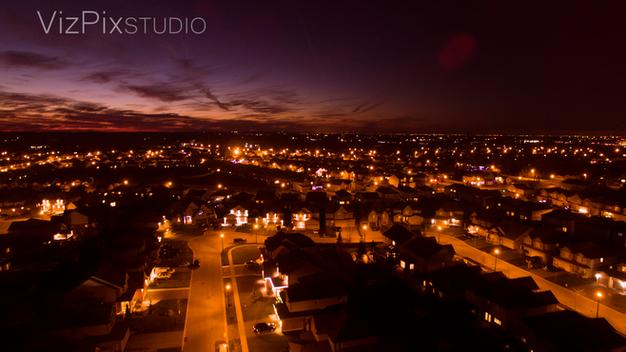 Drone Photography- Sunset in St Cats