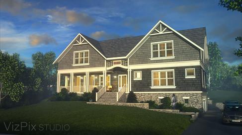Bethesda Shingle House Visualization