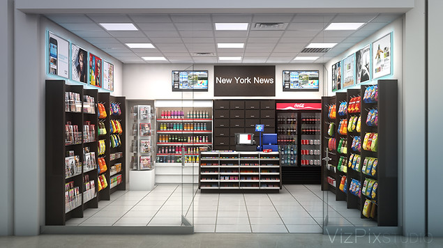 Retail Visualization Rendering