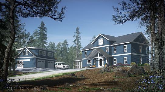 Muskoka Cottage Architectural Visualization