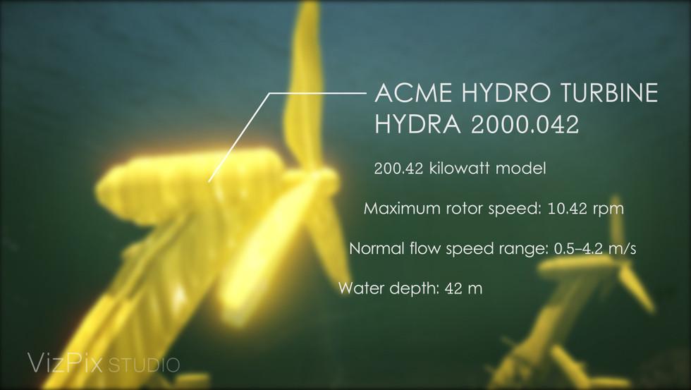 Water Turbine Visualization