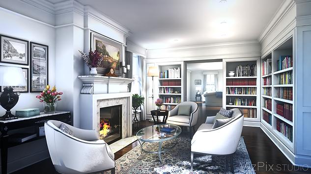 Library Renovation Visualization