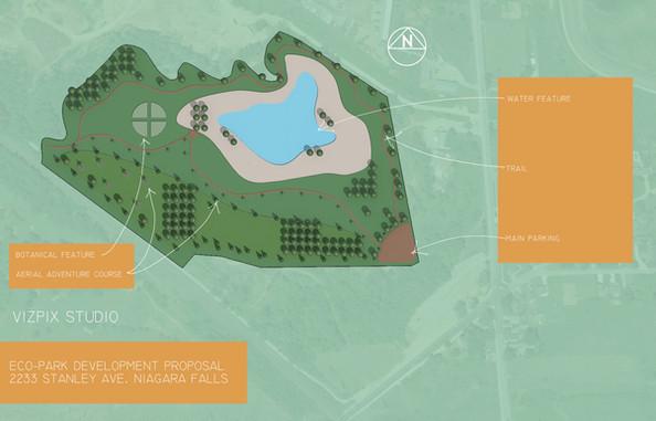 Masterplan for Eco-Park