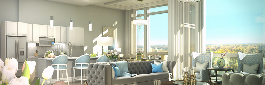 Hyper Realistic Rendering Luxury Condo