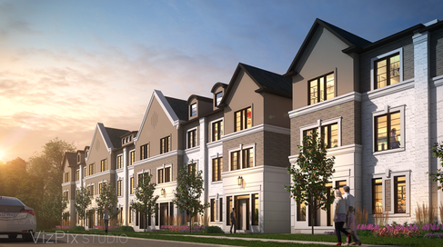 Townhouse Architectural Visualization