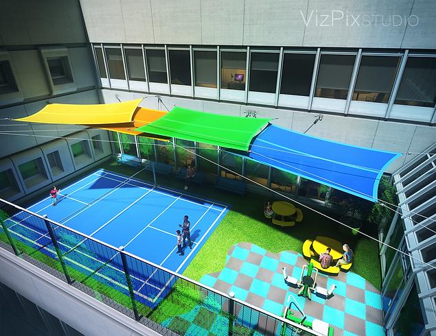 MUMC Youth Courtyard Visualization