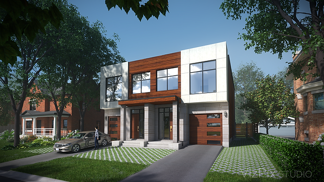 Highcroft Townhouses Visualization