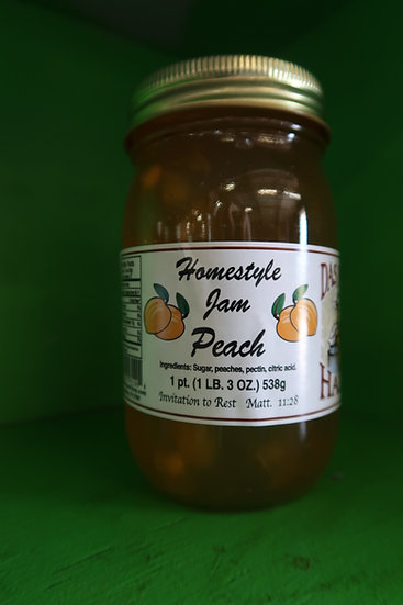 Homestyle Peach Jam