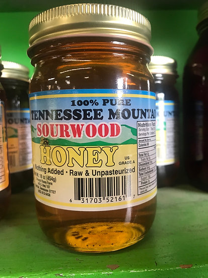 Sourwood Honey with comb