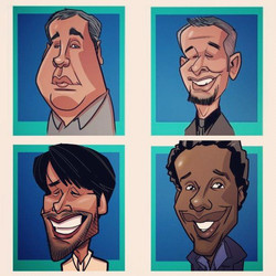 iPad Caricature Event 10/8-Las Vegas