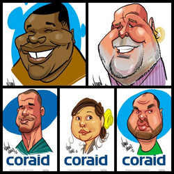 Digital Caricature Event- San Fran