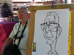 Retail Caricatures- Seattle