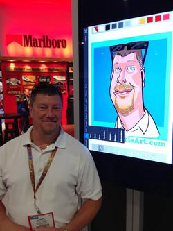 iPad Caricature Event 10/8-Las Vegas